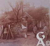 Photos pendant la Guerre - Paissy (Aisne) - Ambulance et cloche des gaz