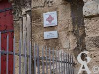 L'église - Plaque Monuments historiques