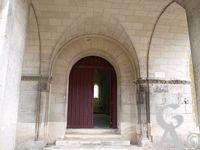 L'église Saint-Martin (XIIe s.) - Entrée