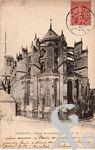 La Cathédrale dans le passé - Abside de la cathédrale