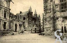 Les rues en ruines - Caserne de pompiers