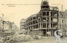 Les rues en ruines - Galeret Seret