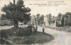 La guerre - Ruines au carrefour des routes