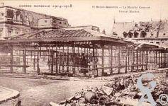 Les rues en ruines - Le marché couvert