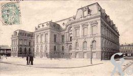 Le Palais de Justice dans le passé