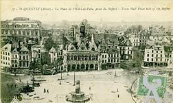 La Place de l'Hôtel de Ville dans le passé - Place de l'hôtel de ville