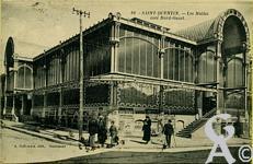 Les halles dans le passé - Les Halles