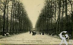 Les Champs Elysées dans le passé - Les Champs Elysées