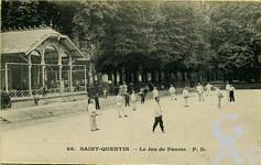 Les Champs Elysées dans le passé - Le Jeu de Paume