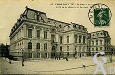 Le palais de justice dans le passé - Côté bourse du Travail