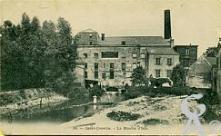 Edifices divers dans le passé - Le moulin d'Isle