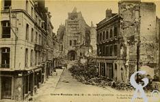 Les rues en ruines - Rue St André
