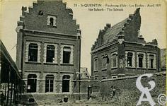 Les rues en ruines - Faubourg d'Isle