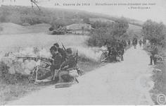 La 1ère guerre mondiale - Mitrailleuses en action