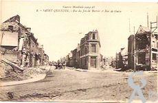 Les rues en ruines - Rue de Guise