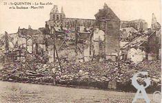 Les rues en ruines - Rue d'Isles et Basilique