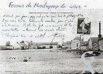 Le passé - Ferme de Montigny-La-Cour
