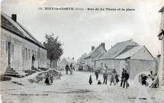 Le passé - Rue de Le Thour et la place