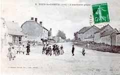 Le passé - L'ancienne place vers 1900