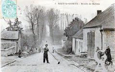 Le passé - Route de Reims vers 1900