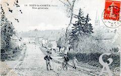 Le passé - Vue générale vers 1900