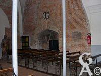 L'église - La cheminée de la partie basse du donjon, il y en a une autre de l'autre côté du donjon, il en existe  également dans la partie haute.