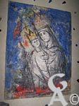 L'église - Fresque de Eyck